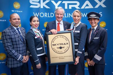 Norwegian vuelve a ser reconocida como 'Mejor low-cost de larga distancia del mundo'
