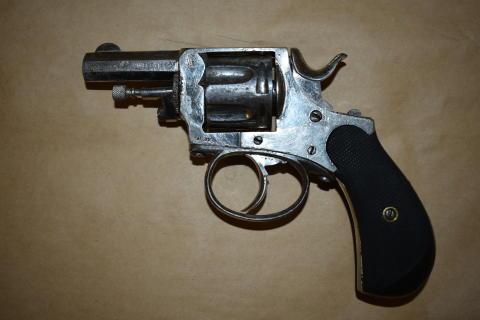 Recovered revolver