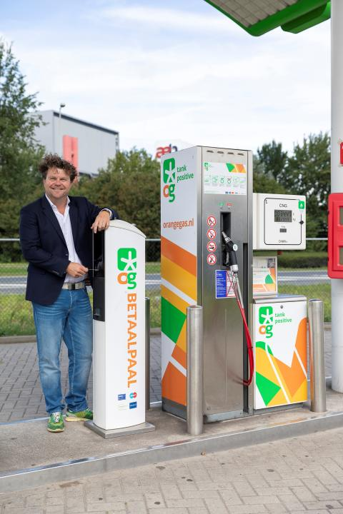 Avyttring av fordonsgas till OrangeGas