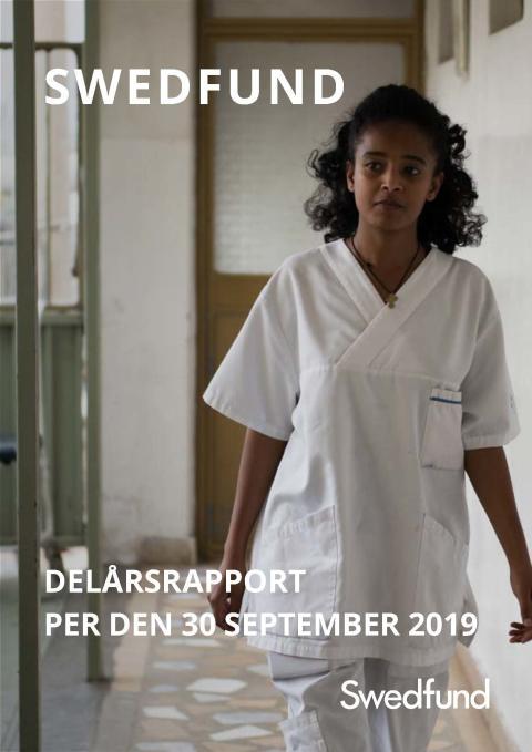 Swedfund delårsrapport per den 30 september 2019