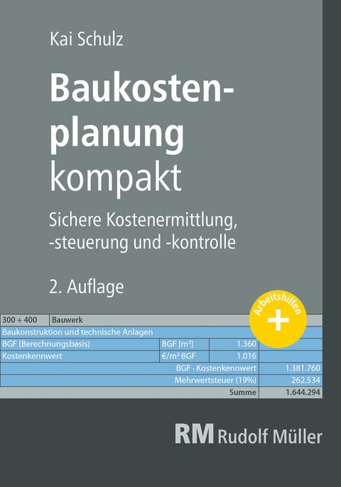 Baukostenplanung kompakt, 2. Auflage (2D/tif)