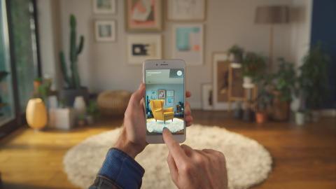 IKEA blir ett av världens första företag att lansera app i ny AR-teknik