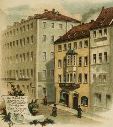 Geburtshaus von Clara Schumann in Leipzig
