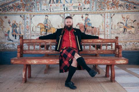 Dellenkilt, British så in i Norden, Nordiska museet