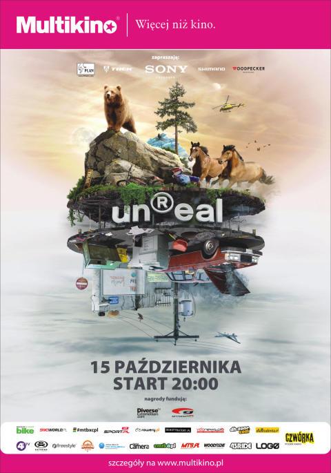unReal plakat