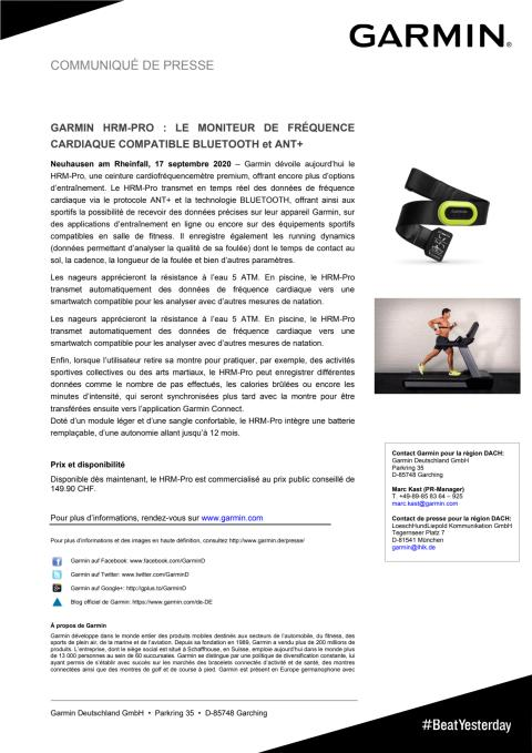 CP Garmin HRM-Pro
