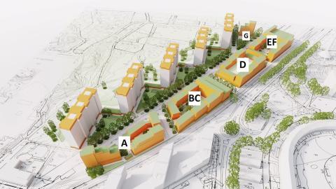 Tornstaden bygger fler hyresrätter för Framtiden i Göteborg