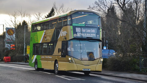 Go North East mobilises replacement bus service for the Tyne and Wear Metro with help from local operators