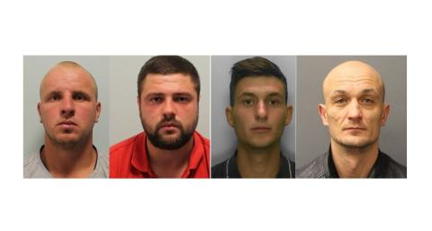 Four men jailed for raping woman in Ealing