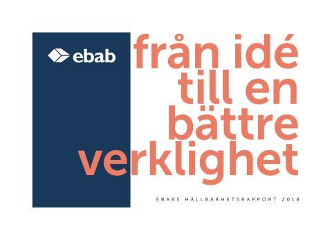 Ebab hållbarhetsrapport