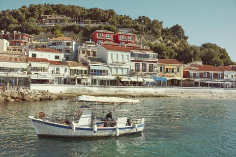 Landsby på Poros