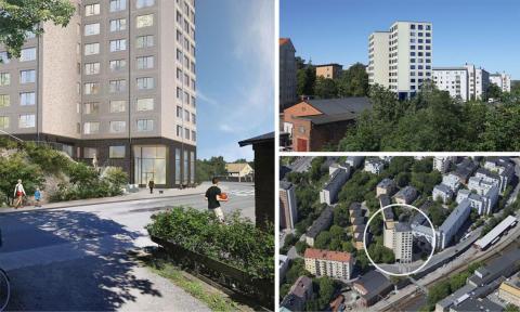Abacus produktionsstartar 131 studentbostäder  i Ruddammen, centrala Stockholm