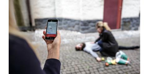 SOS Alarm har tecknat avtal med Heartrunner Sweden AB om sms-livräddning