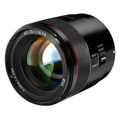 """""""Tiny but Absolute""""! – Samyang widmet der klassischen Portraitbrennweite von 75mm ein eigenes Objektiv für Sony Alpha Kameras"""