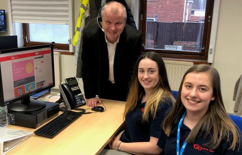 Go North East apprentices share customer service expertise with Gateshead College for 'day in the life' initiative