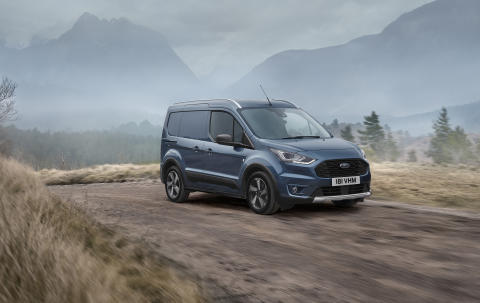 Lanserer ny og røffere Ford Transit Connect Active