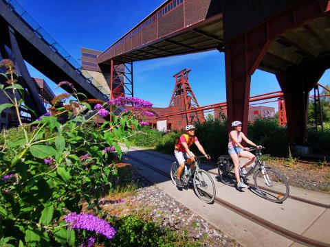 Ruhr Tourismus präsentiert 12 spannende Kurztouren durch das radrevier.ruhr – besonders für Rad-Einsteiger geeignet