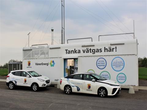 Byggstart för världsunik energilösning med sol och vätgas i Mariestad