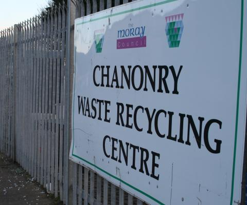 Moray in second place in recycling league table