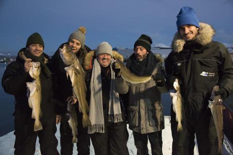 Masterchef Portugal vier julespesial til norsk klippfisk