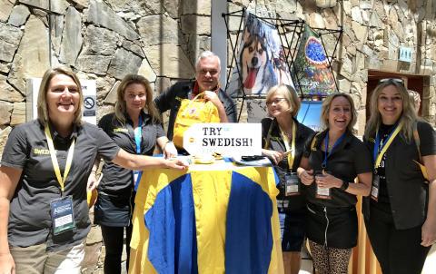 Naturturismföretagen och Swedish Welcome är goda exempel vid internationell kongress