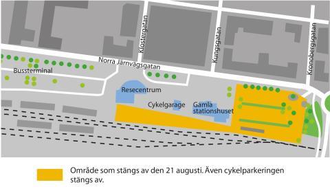 Startskott för Norra stationsområdet