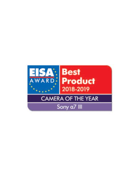 EISA Award  2018-2019_Camera Of The Year_Sony a7 III