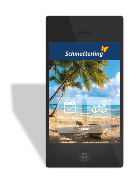 Print-Bild: Das Reisebüro für unterwegs - Die neue Schmetterling Travelbox App setzt neue Maßstäbe für die Kundenkommunikation