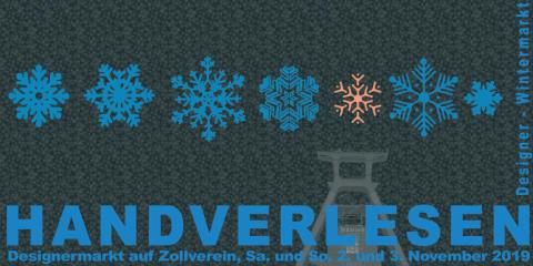 HANDVERLESEN: Der Designer-Wintermarkt auf Zollverein