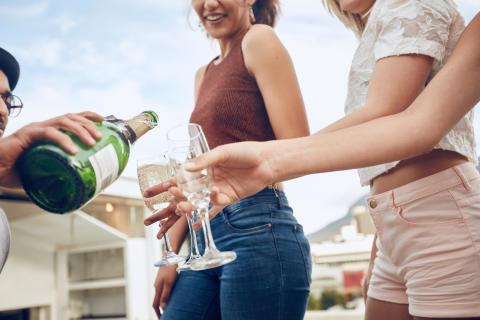 Så ofta drack vi alkohol under sommaren