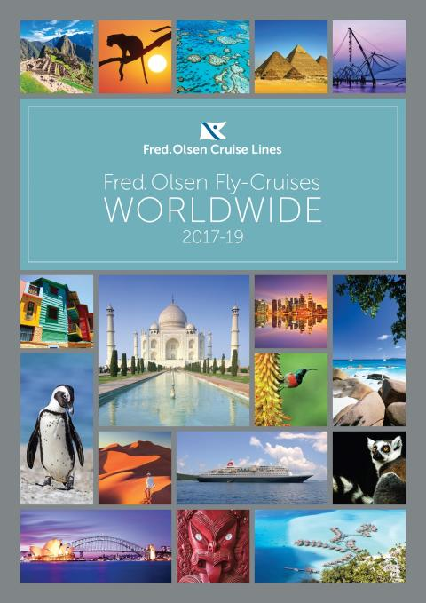 Fred. Olsen Cruise Lines unveils new first-ever dedicated 'Worldwide Fly-Cruises' brochure for 2017-19