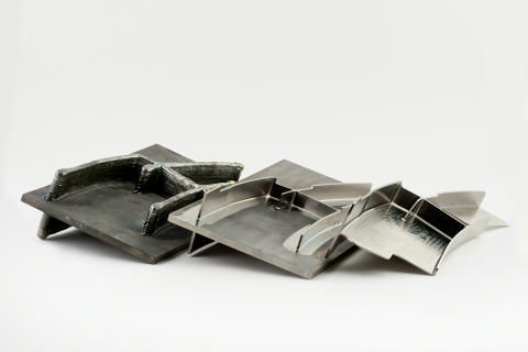 3D-printet titankomponent i tre steg