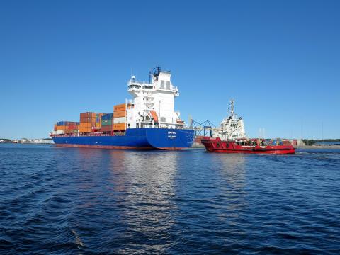 Gävle Hamn digitaliserar fartygsanlöpen i nytt stort Östersjöprojekt