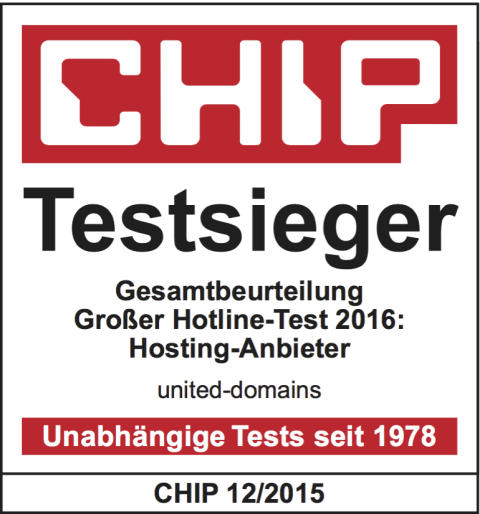 Testsieger united-domains