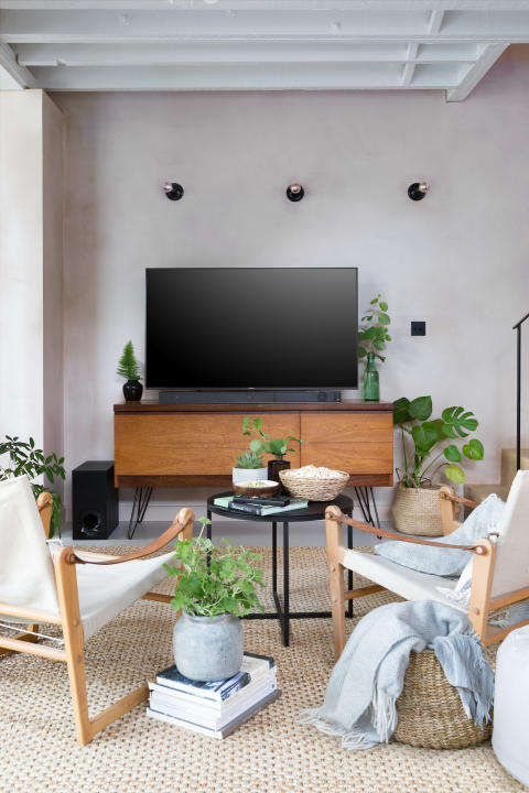 Living Room style with Sony ZF9 Soundbar 6a