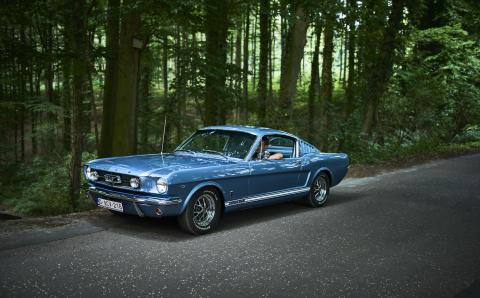 Ford Mustang klokke 2017 (12)