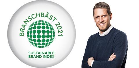 HSB mest hållbara varumärket för fjärde året i rad