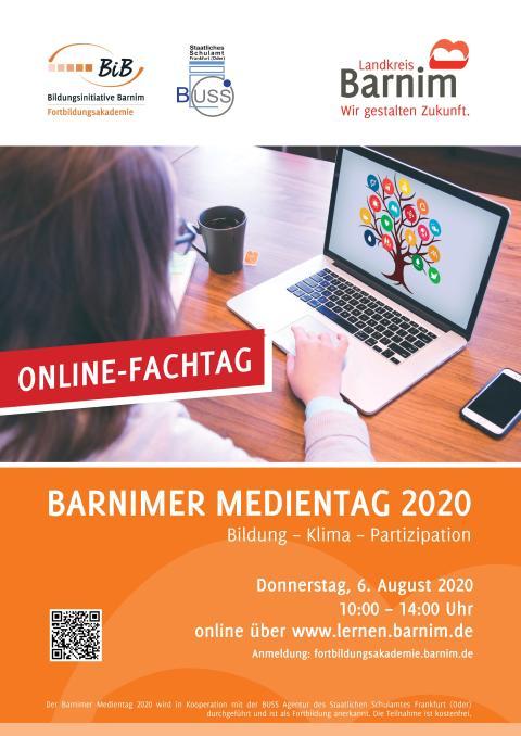 "6. Barnimer Medientag ""Bildung – Klima – Partizipation"""