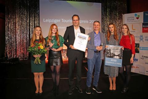 In der Kategorie Persönlichkeiten wurde Dr. Walter Ebert, Leiter des Marktamtes der Stadt Leipzig, mit dem ersten Platz ausgezeichnet