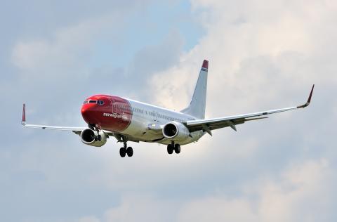 Norwegian-flyet LN-NOH