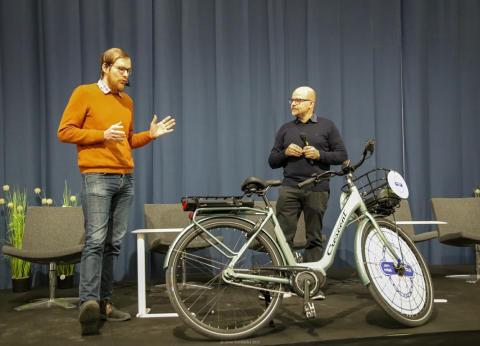 Crescents smarta elcykel blir årets cykel i Finland