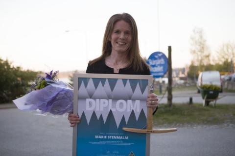 Årets Skidinspiratör Marie Stenmalm