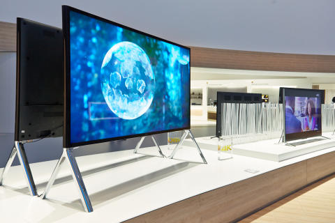 Sony IFA Booth 4K TV