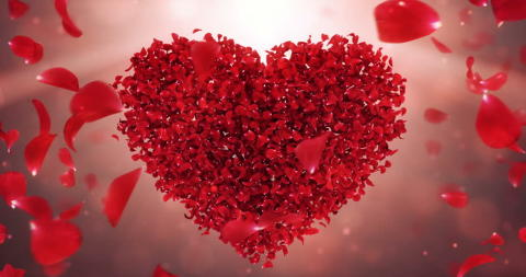 Love is in the air! Vigsel på Oscarsteaterns stora scen för giftassugna par.
