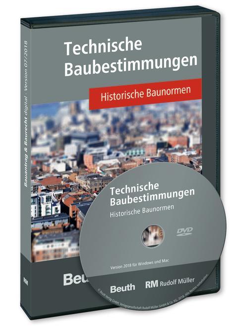 Technische Baubestimmungen – Historische Baunormen, Version 2018 (3D/tif)