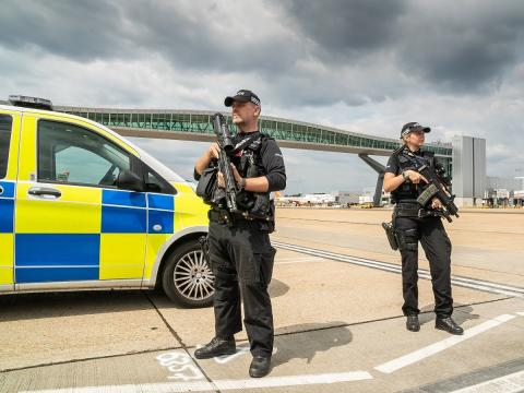 Two arrested in drone disruption at Gatwick