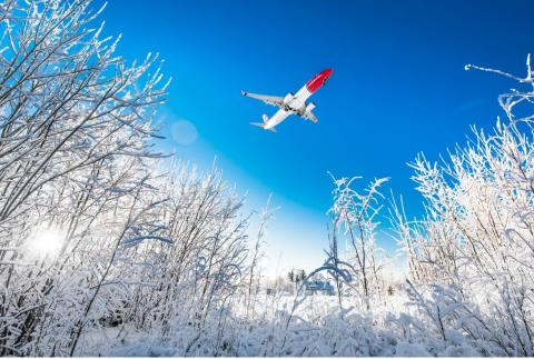 Norwegians trafiksiffror för december kraftigt påverkade av  COVID-19