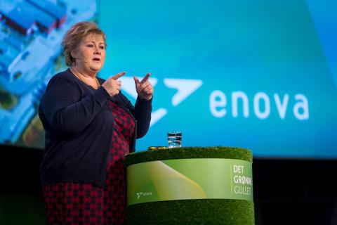 Erna Solberg åpnet Enovakonferanse