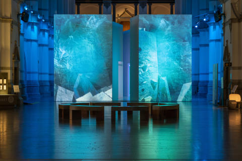 Utställningen Arktis – medan isen smälter