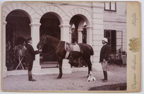 Stallpojken och Arthur Bäckström
